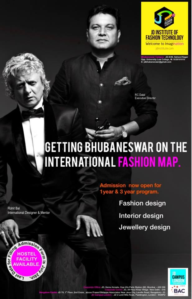 Bhubaneswar adds another Fashion Institute after NIFT