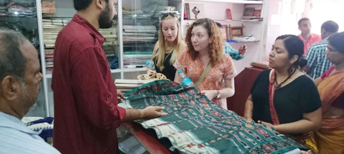 USA California University students visits Odisha Khadi & Village Industries Board