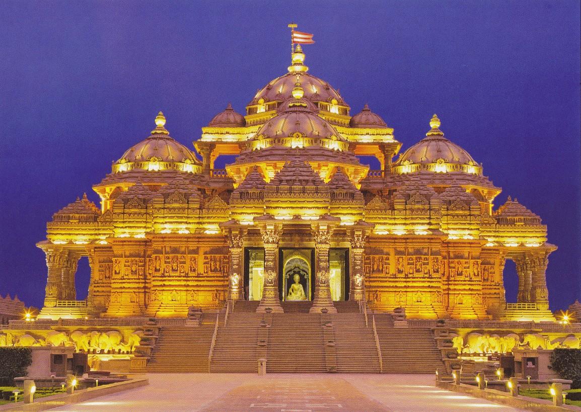 akshar dham temple design durga puja cuttack
