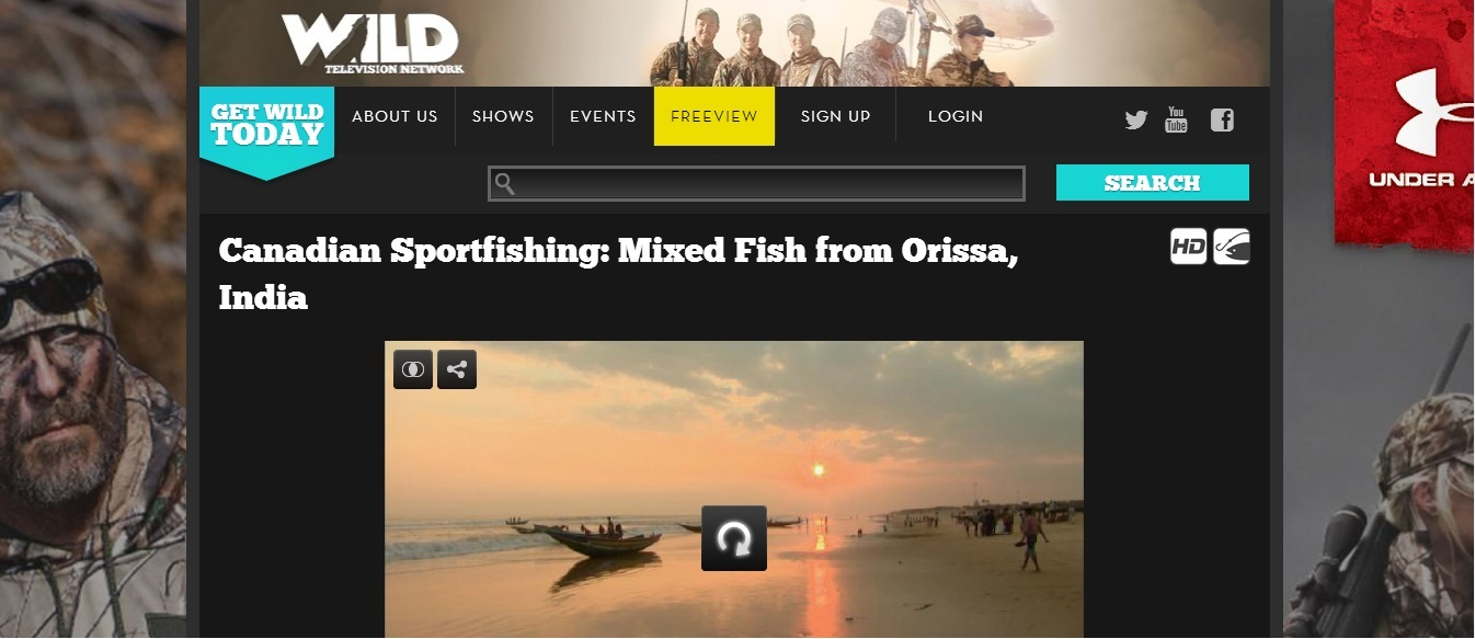 canadian channel features odisha fishing