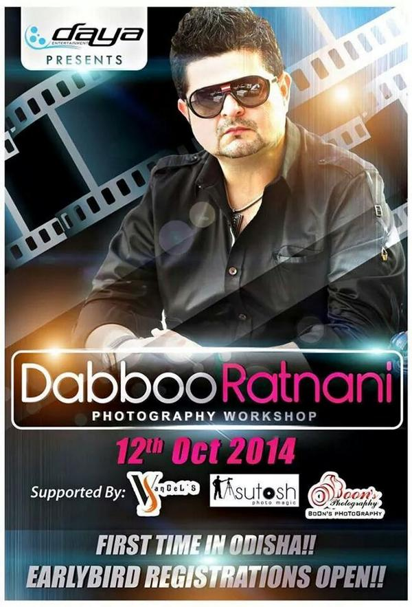 daboo ratnani workshop in bhubaneswar