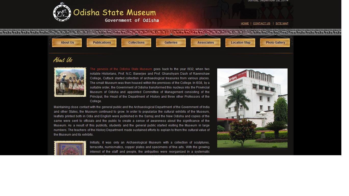 odisha state museum website