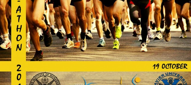 XIMB presents Marathon for a noble cause – X-Athon 2014