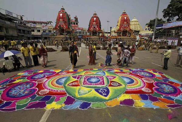 Rathyatra puri another look