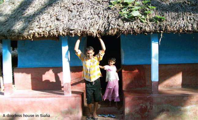 doorless house odisha