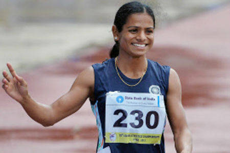 Dutee Chand of Odisha sets a new  national record best by an Indian to date