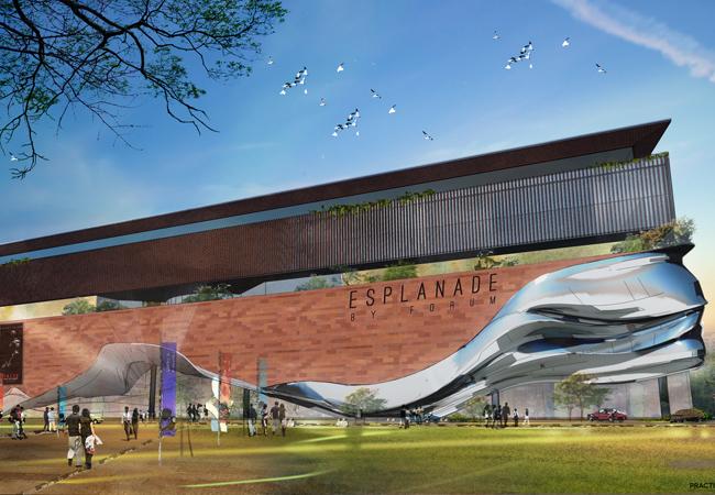 esplanade forum mall