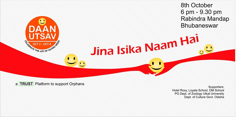 joy of giving week odisha event