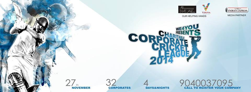 we 4 you corporate cricket tournament