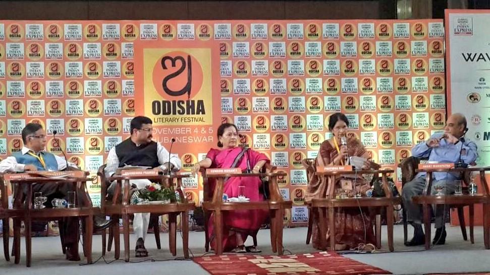 dharmendra odisha literary fest