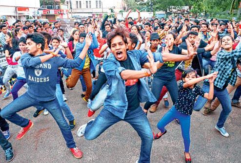flashmob keshari