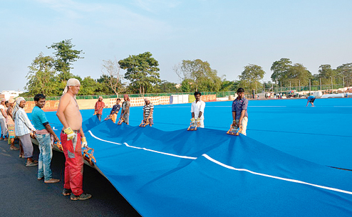 kalinga hockey 2nd turf