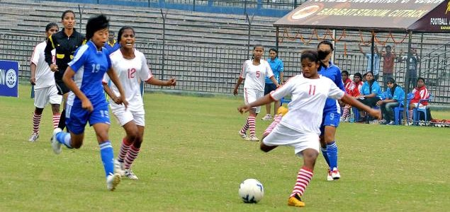 Odisha girls thrash Andhra Pradesh by 25-0 margin in Junior Girls National football championships