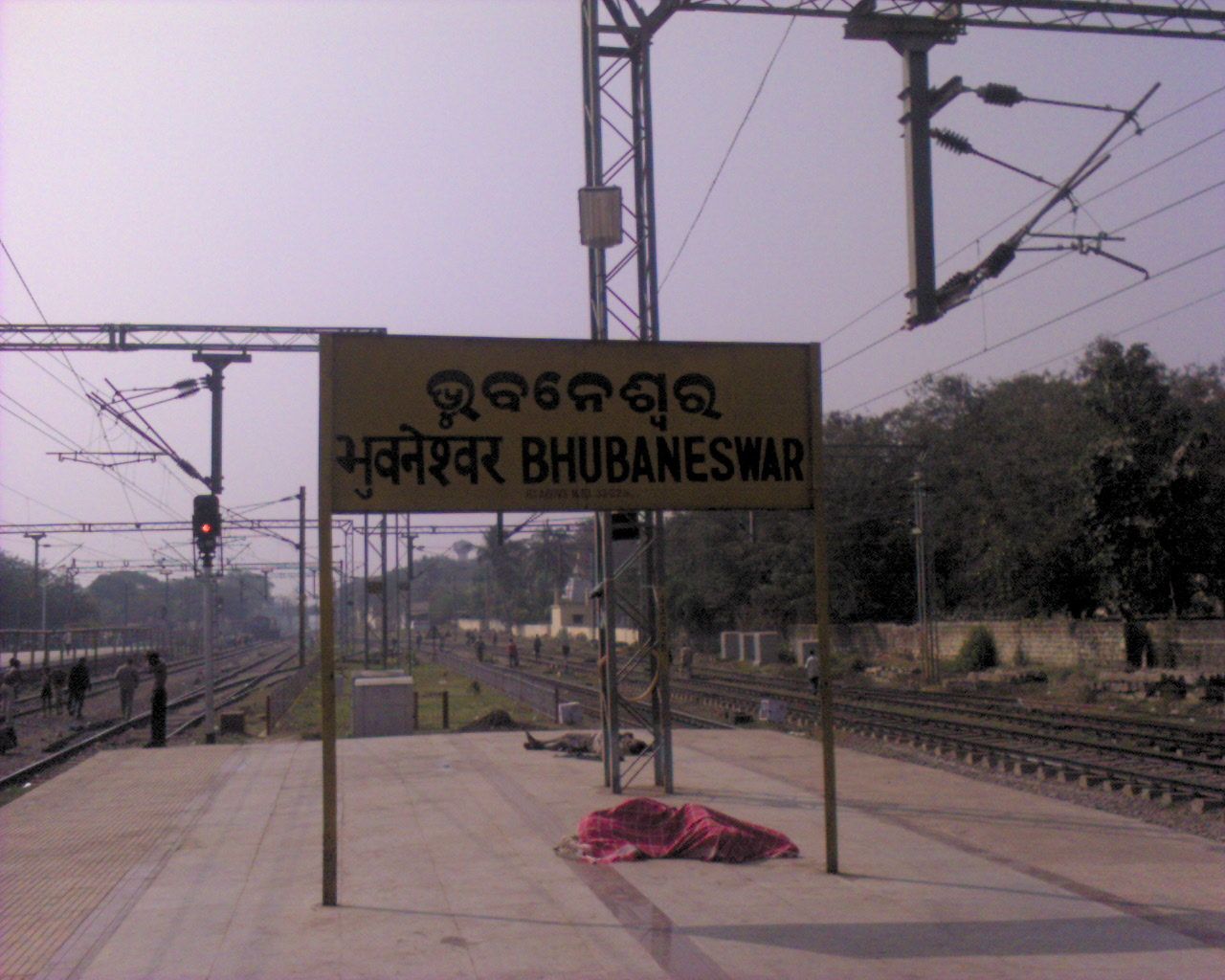Bhubaneshwar_Railway_Station_Board