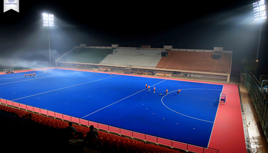 FYI Bhubaneswar Kalinga Stadium holds India's first Olympic standard pink and blue pitch