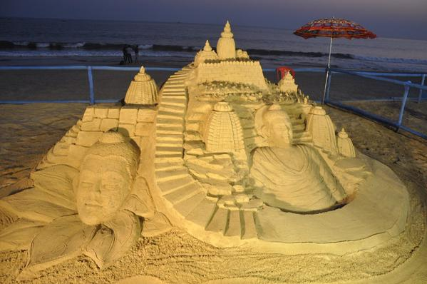 international sandart festival started
