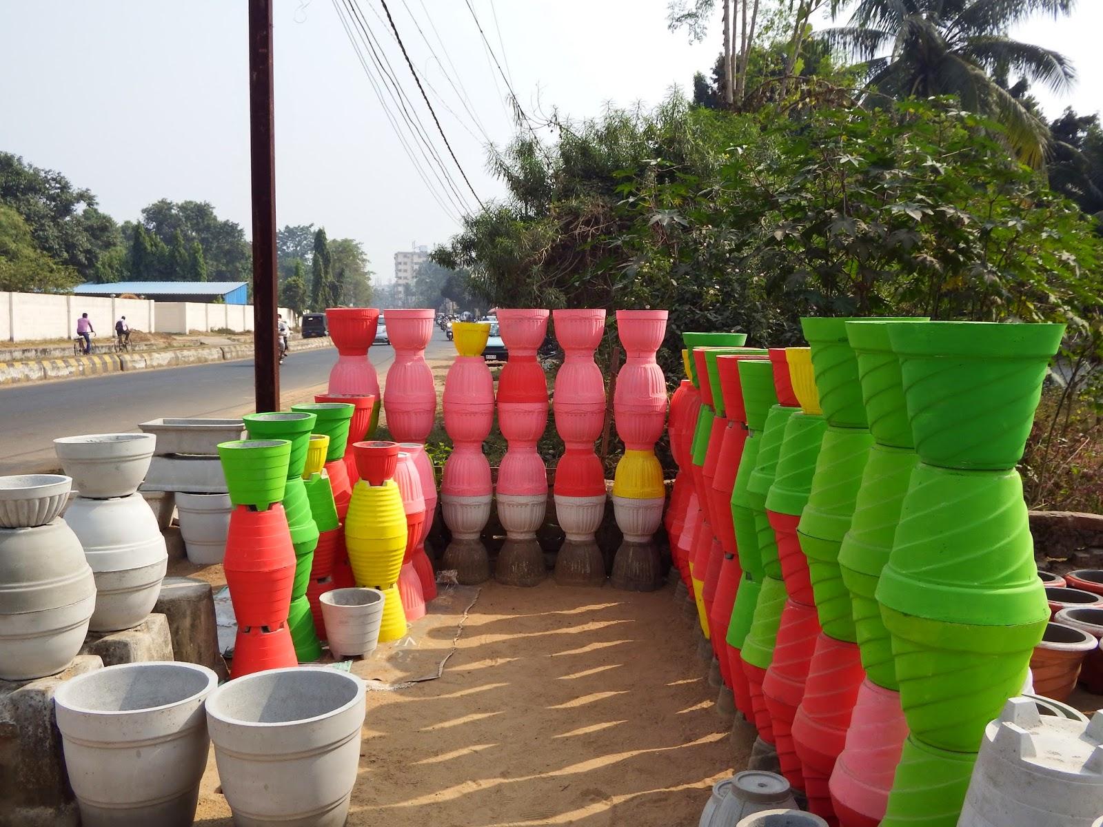 vases roadside bhubaneswar
