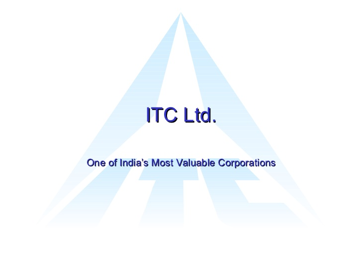 ITC limited wants to open in odisha