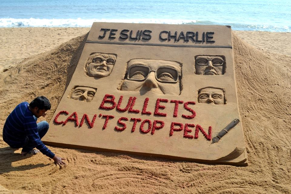 paris attack sandart