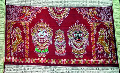 Innovative as Saris being used to showcase Odisha's rich culture and tradition