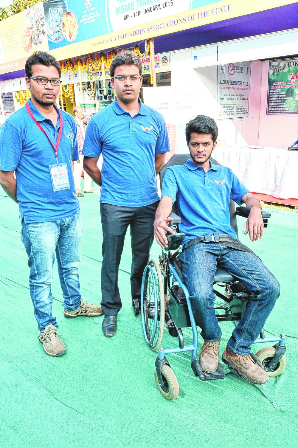 wheel chair telegraph odisha