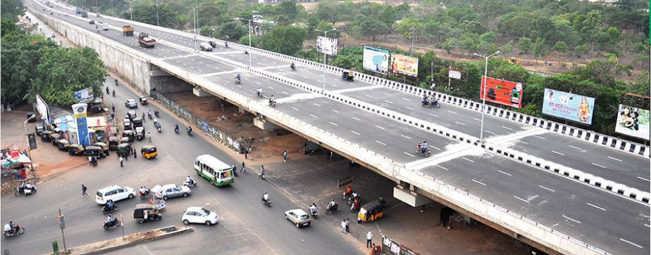 bhubaneswar roads over bridge