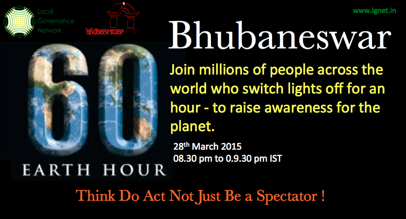 bhubaneswar buzz earth hour