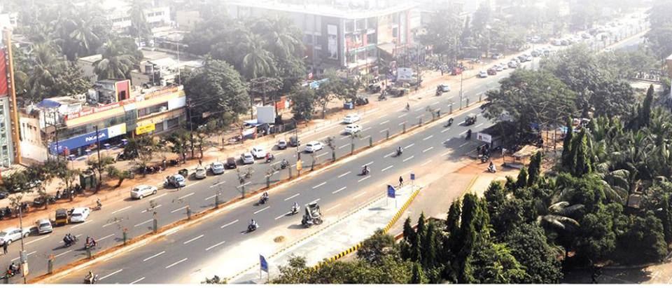 bhubaneswar roads top view