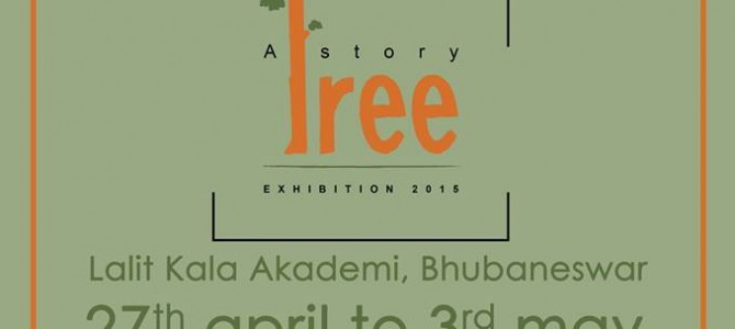 A TREE STORY – Exhibition in Bhubaneswar with message of loss in habitats