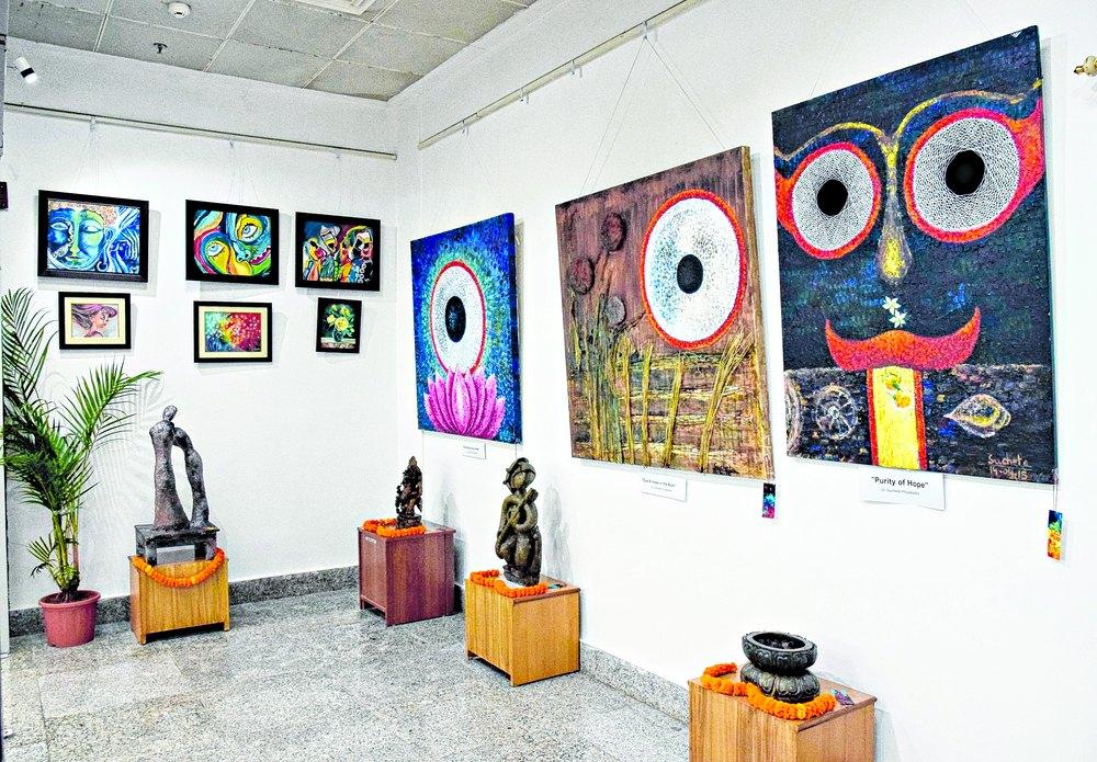 bhubaneswar airport art gallery