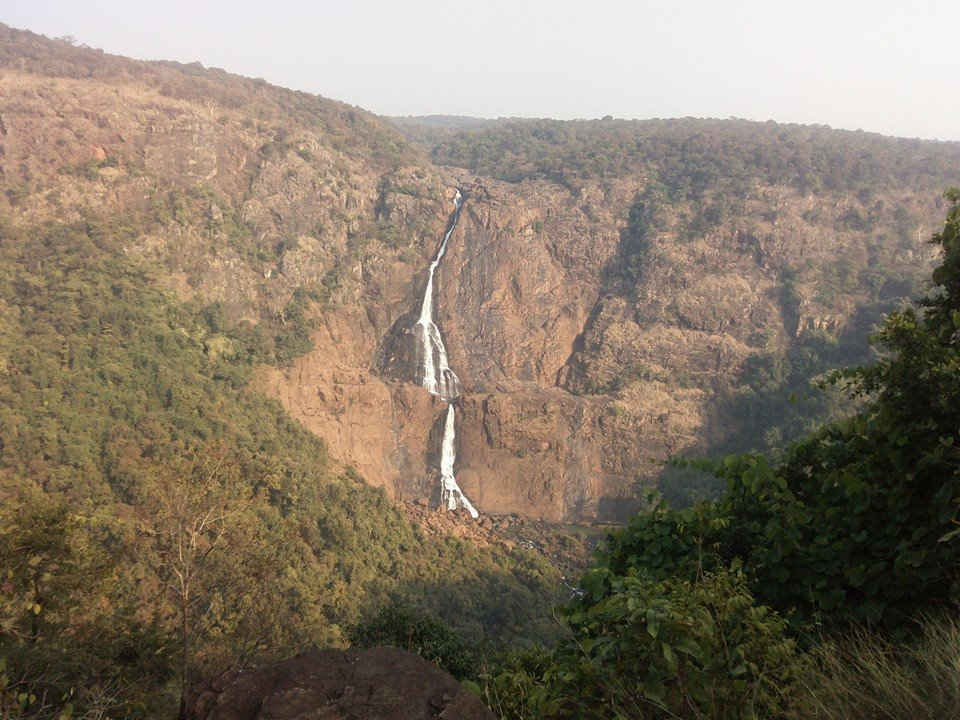 similipal national park waterfall