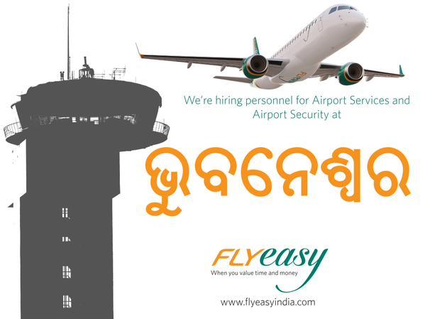 Fly easy bhubaneswar hiring