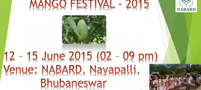 NABARD hosts Carbide Free Mangoes Exhibition cum sale till 15th June