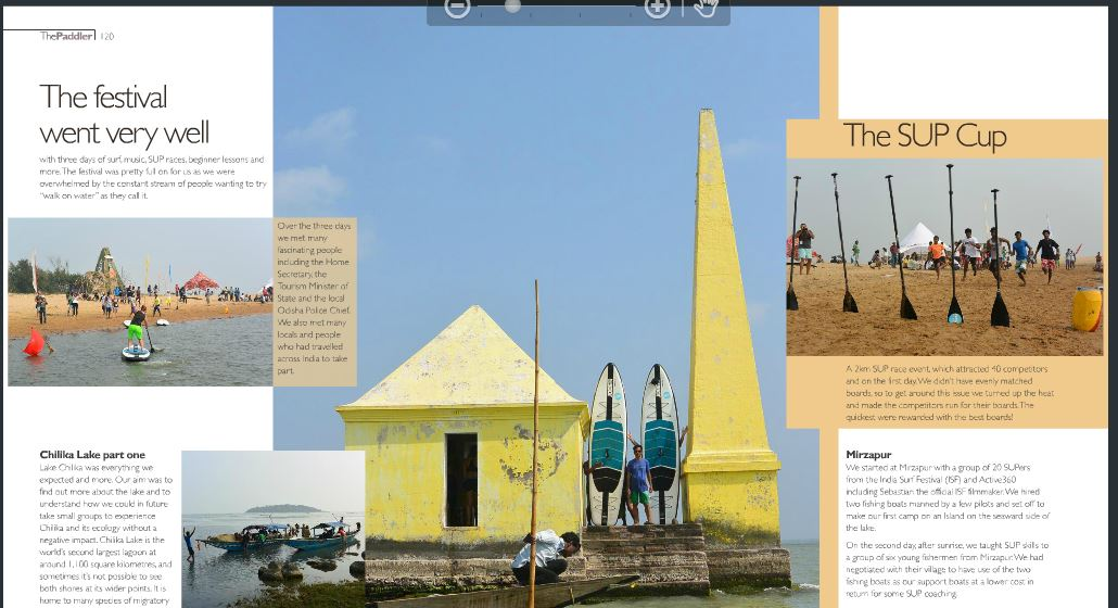 Paddler magazine india surf fest