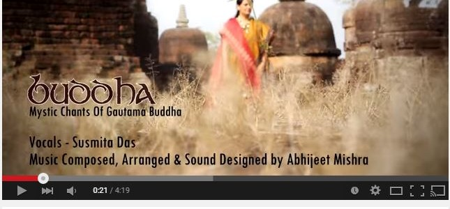 A videon on Mystic Chants Of Gautama Buddha shot at Buddhist tourism locales of Odisha