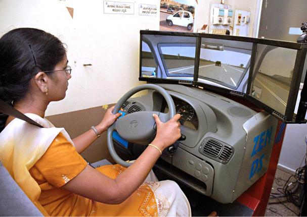 driving license simulator bhubaneswar buzz