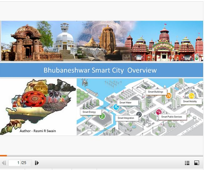 Bhubaneswar smart city presentation