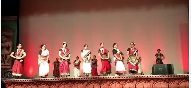 Mate bhala lage Mo Odisha – Beautiful Dance performance by Washington DC Odias