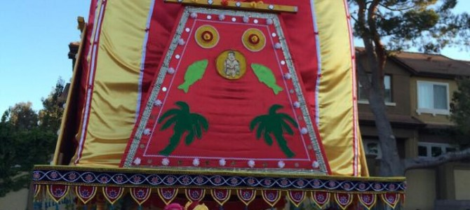 Jagannath Rath Yatra at Sunnyvale San Fransisco Bay Area – by Soumya Mohapatra