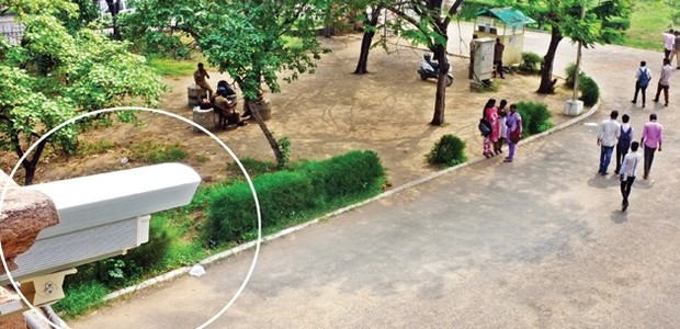 Is CCTV on all College Campuses the solution to curbing Criminal activities ?