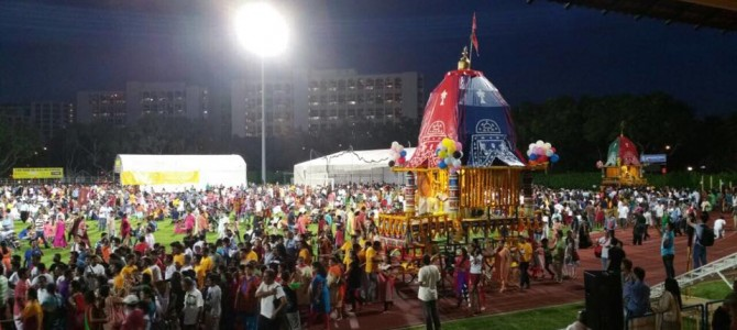 Jagannath Rath Yatra 2015 in Singapore – pics by Sagaree Das