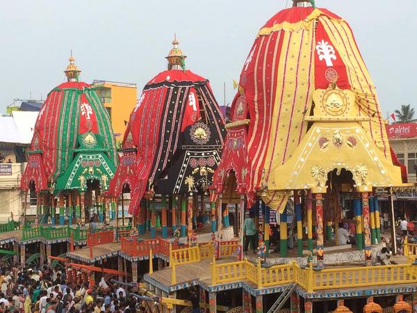 rath ready in puri singhadwar