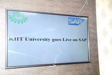KIIT university live on SAP bbsrbuzz