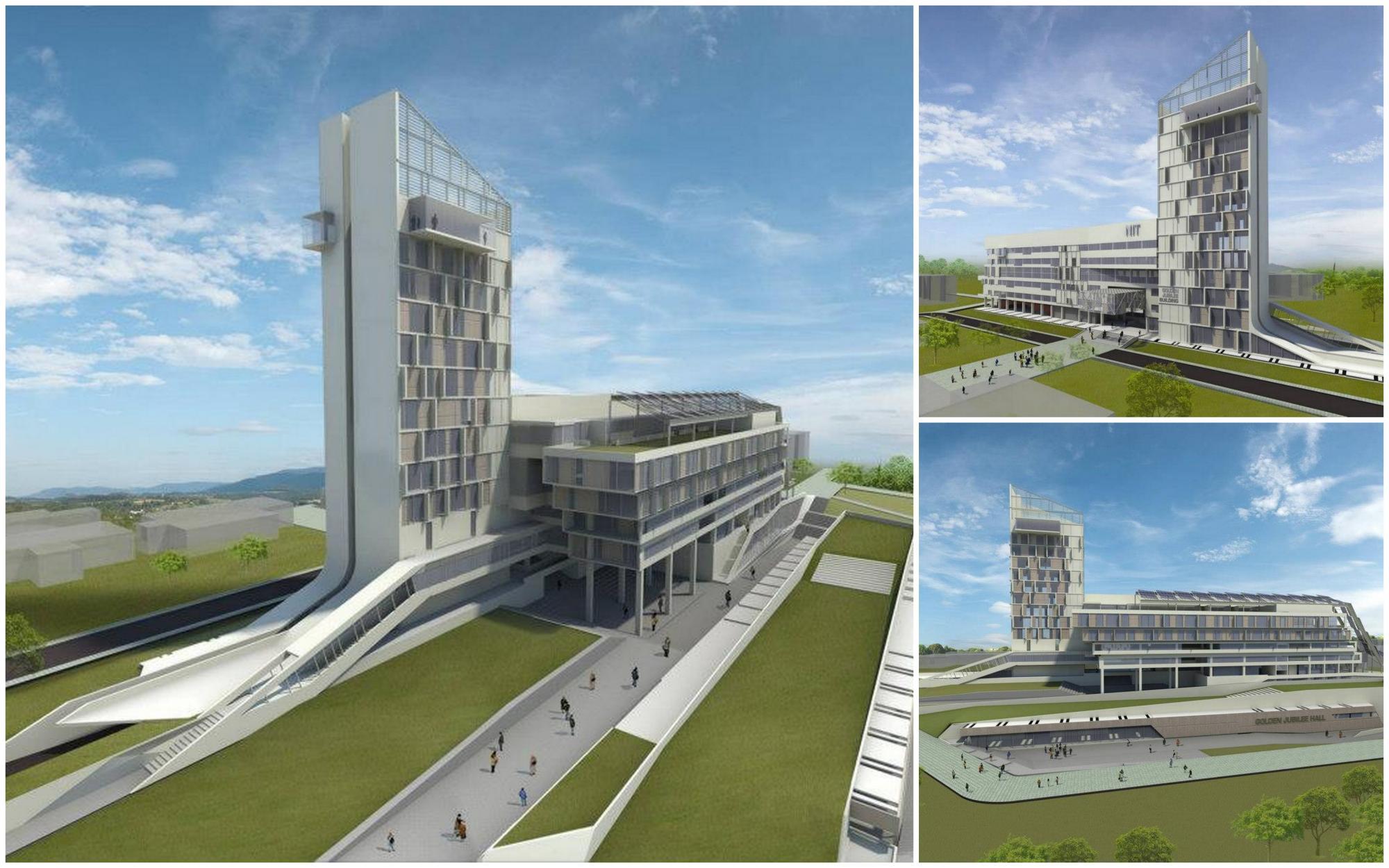 NIT Rourkela proposed infrastructure