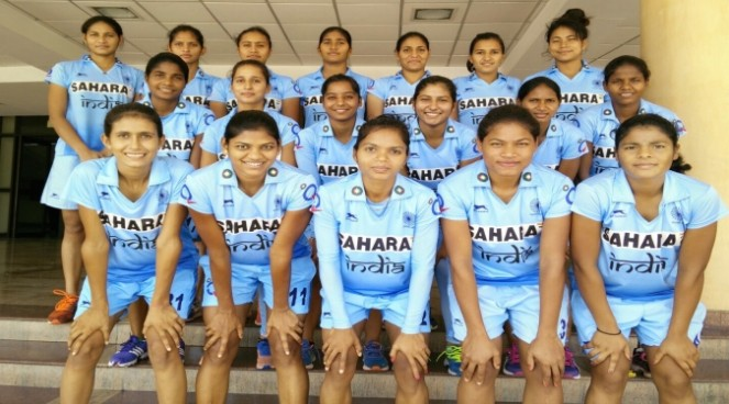 india junior women hockey team