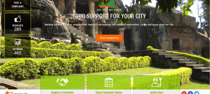 BMC trying to automate Garbage cleaning through its Mobile App , give it a try
