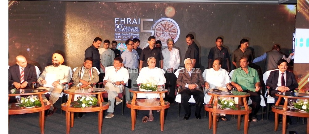 FHRAI convention 1st day mayfair bhubaneswar buzz