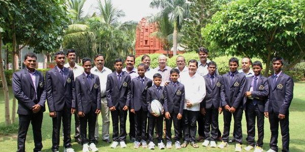 KISS Bhubaneswar team to represent India in international U 13 Rugby Tournament in London