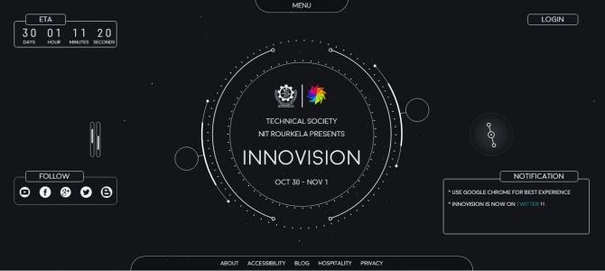 NIT Rourkela Technical Society presents Tech Fest Innovision 2015
