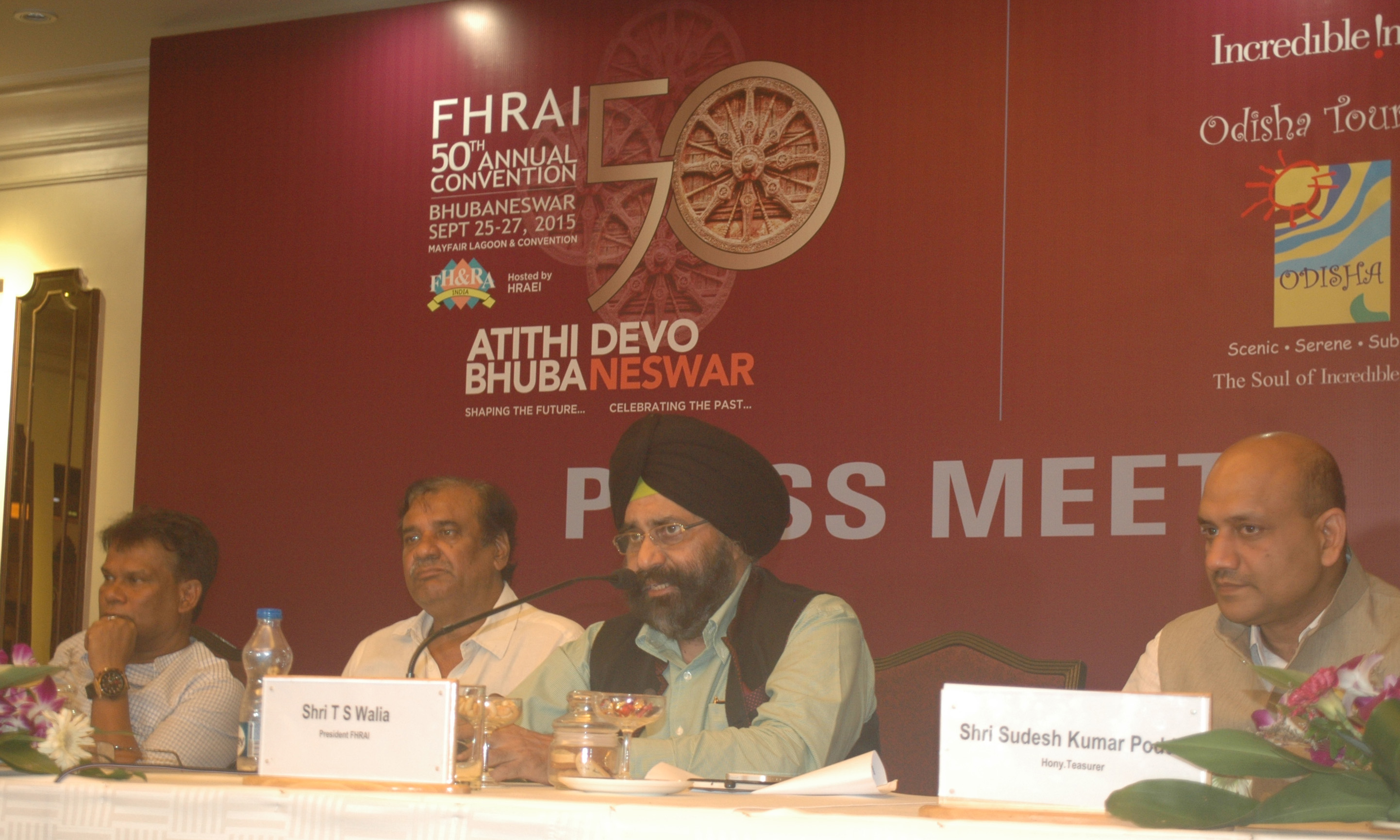 Photograph - FHRAIs 50th Annual Convention Atithi Devo Bhubaneswar 2